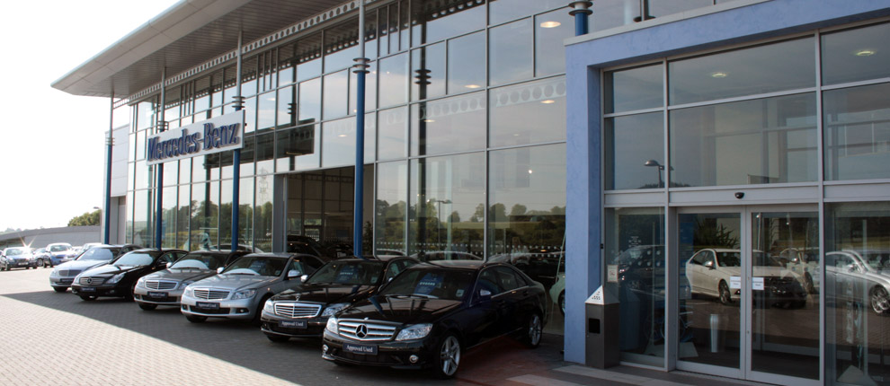 Mercedes Car Showroom Civil And Structural Engineering Design Services - Car showroom