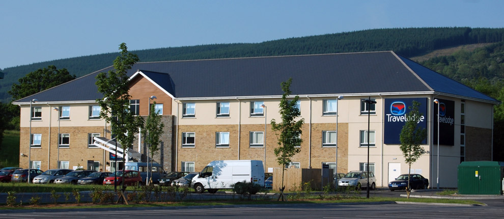 Travelodge rhydycar merthyr tydfil civil and structural for In home design merthyr
