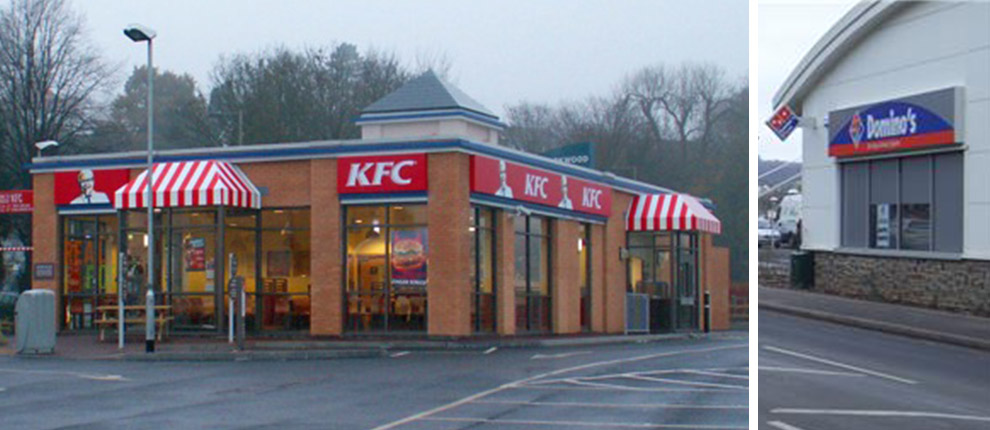 Kfc Amp Halfords Retail Units Civil And Structural