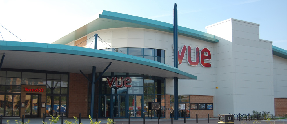 Vue cinema and ten pin bowling building rhydycar leisure for In home design merthyr